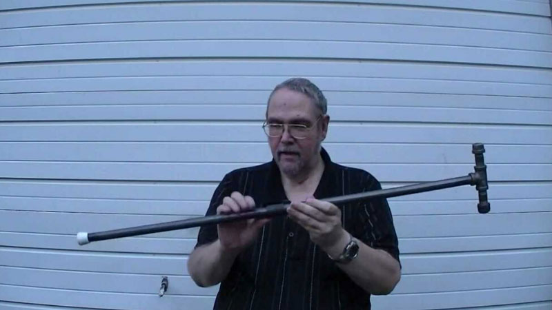 DIY Self Defense Cane